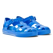 Dolce & Gabbana Blue Branded Jelly Shoes 80661