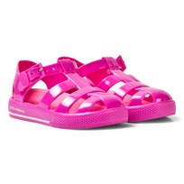 Dolce & Gabbana Pink Branded Jelly Shoes 87392