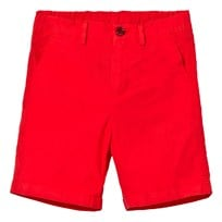Dolce & Gabbana Red Chino Shorts R0012