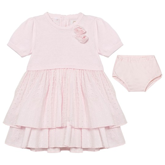 Emile et Rose Kesia Pale Pink Dress with Knickers Pink