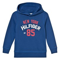 Tommy Hilfiger Blue Branded Hoody 497