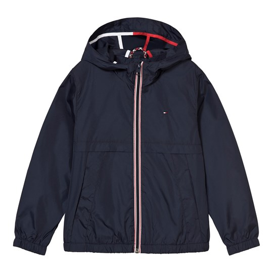 Tommy Hilfiger Hooded Windbreaker Marinblå 431