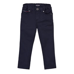 Tommy Hilfiger Navy Scanton Skinny 5 Pocket Trousers