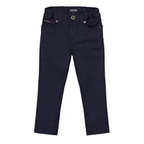 Tommy Hilfiger Navy Scanton Skinny 5 Pocket Trousers 431