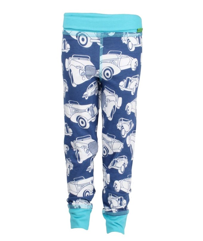 Legging Baby Fancy Cars Blue