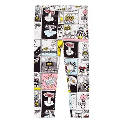 Fendi Multi Space Monster Print Leggings