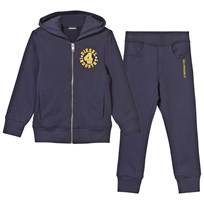 Diesel Branded Hoodie and Sweatpants Navy K80A