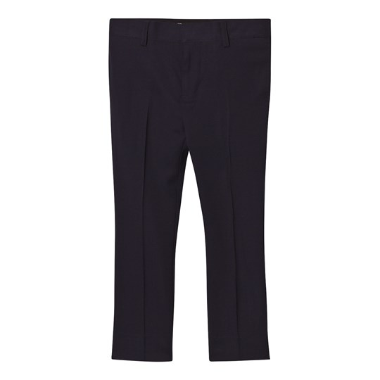 Burberry Navy Cool Wool Suit Trousers Navy