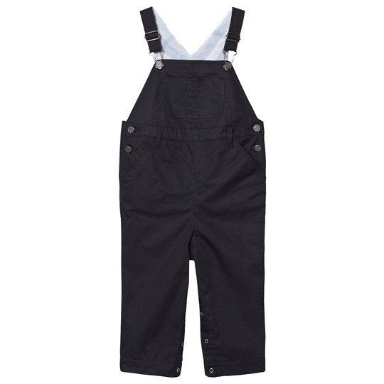 Burberry Cotton Twill Overalls Ink INK