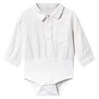 Mini A Ture Laur Baby Body White White