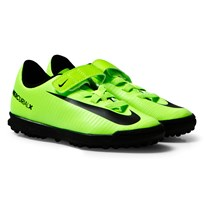 NIKE Green MercurialX Vortex III Turf Football Boots ELECTRIC GREEN/BLACK-FLASH LIME-WHITE