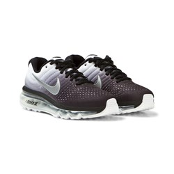 NIKE Black and White Air Max 2017 Junior Trainers