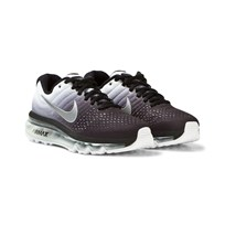 NIKE Black and White Air Max 2017 Junior Trainers Black