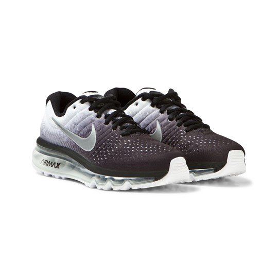 huge selection of 21449 47ea4 NIKE - Black and White Air Max 2017 Junior Trainers ...