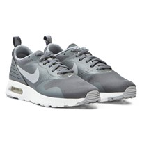 NIKE Grey Air Max Junior Tavas Trainers COOL GREY/WOLF GREY-WHITE