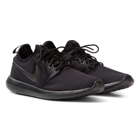 NIKE Roshe Two Junior Trainers Svart Black/Black