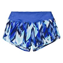 NIKE Blue Printed Rival Dry Shorts VIVID SKY/COMET BLUE/COMET BLUE
