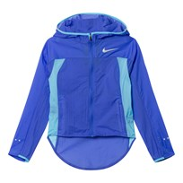 NIKE Blue Lightweight Hooded Jacket COMET BLUE/COMET BLUE/VIVID SKY