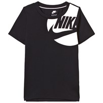 NIKE Black and White Branded Tee Sort