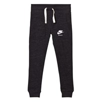NIKE Grey Vintage Jogging Bottoms BLACK/SAIL