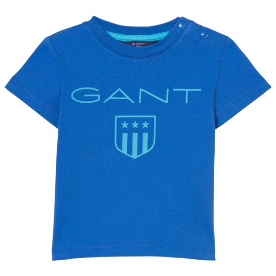GANT Blue Shield Print Tee 422