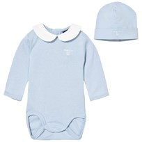 Gant Pale Blue Jersey Body and Hat Gift Box 451