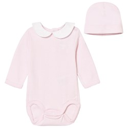 GANT Pink Jersey Body with Hat Gift Set