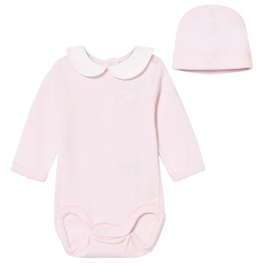 GANT Pink Jersey Body with Hat Gift Set 654