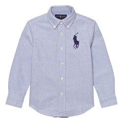 Ralph Lauren Blue Big Pony Shirt