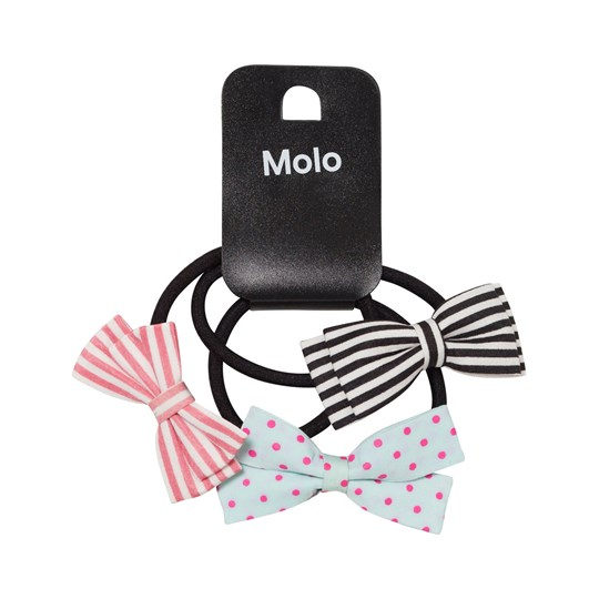 Molo Hair Bow Set Multi Color Multi color