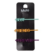 Molo Friends Hair Pins Multi Color Multi color