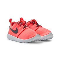 NIKE Coral Roshe One Trainers LAVA GLOW/COOL GREY-WHITE