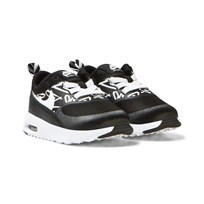 NIKE Black Printed Air Max Thea Trainers BLACK/WHITE-LAVA GLOW