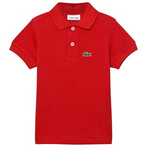 Lacoste Red Classic Pique Polo 8 years
