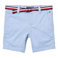 Tommy Hilfiger Light Blue Classic Belted Chino Shorts 419