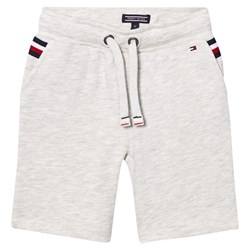 Tommy Hilfiger Sweat Shorts Grey with Flag Detail
