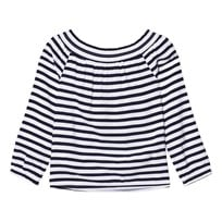 Tommy Hilfiger Navy Off The Shoulder Top 431