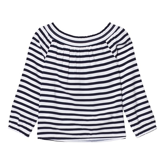 Tommy Hilfiger Off The Shoulder Tröja Marinblå 431