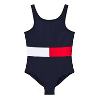 Tommy Hilfiger Navy Flag Swimsuit 431