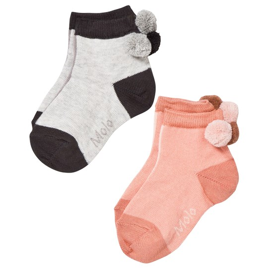 Molo Nellys 2-Pack Socks Poppies Poppies