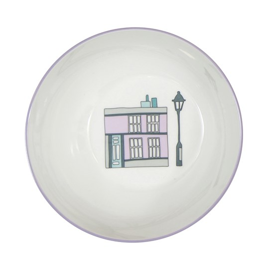 sebra Village Melamine Bowl White