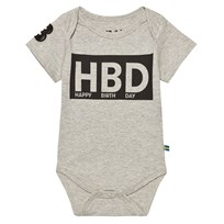 The BRAND HBD Baby Body Grey Mel Black
