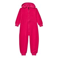The BRAND Cotton Terry Onesie Pink Pink