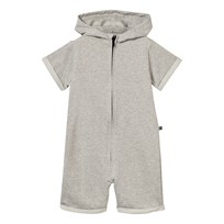 The BRAND Baby bodysuit i Grå Melange Grey