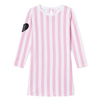 The BRAND Tee Dress Pink Stripe Pink