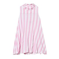 The BRAND Turtle Dress Pink Stripe Pink