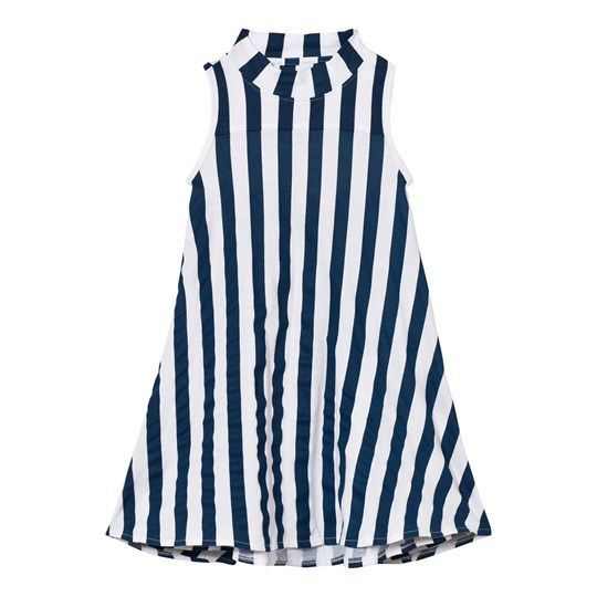 The BRAND Turtle Dress Blue Stripe Blue