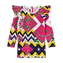 The BRAND Flounce Dress Multi Color Multi