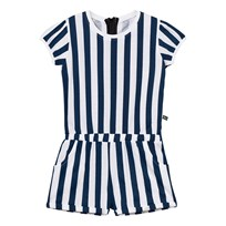 The BRAND Jumpsuit Summer Blue Stripe Blue