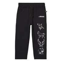 The BRAND Animal Sweatpants Black Black